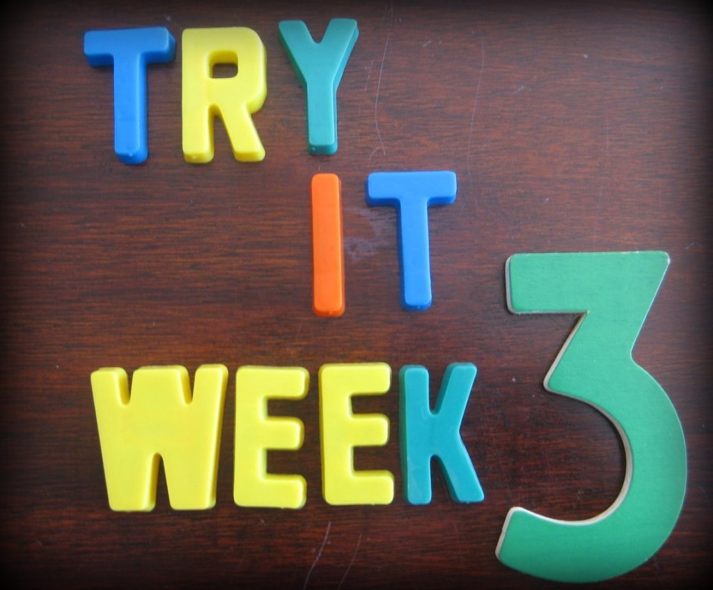 """Try It"" Challenge {Week 3}"