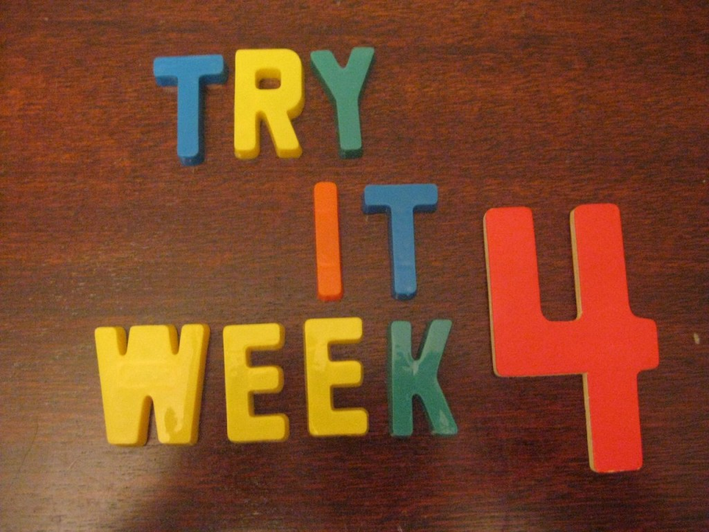 """Try It"" Challenge {Week 4}"