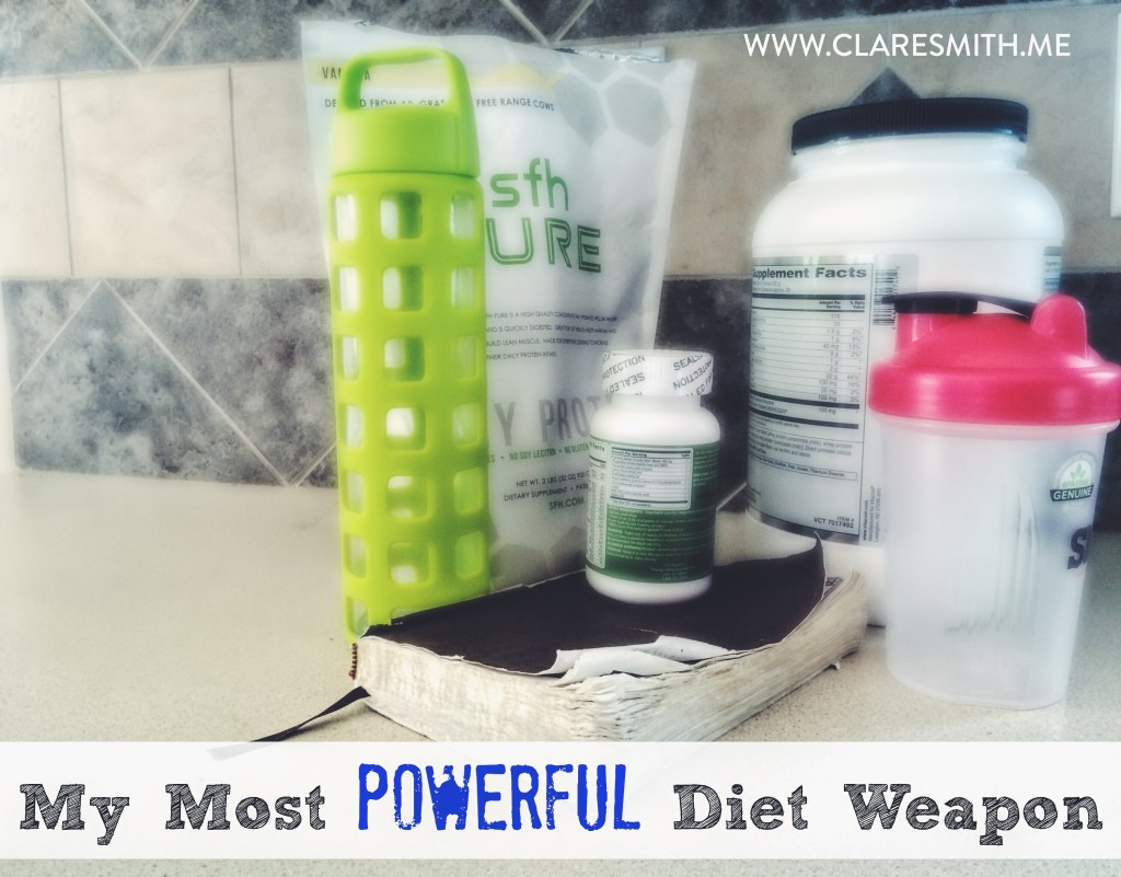 My Most Powerful Diet Weapon: www.claresmith.me