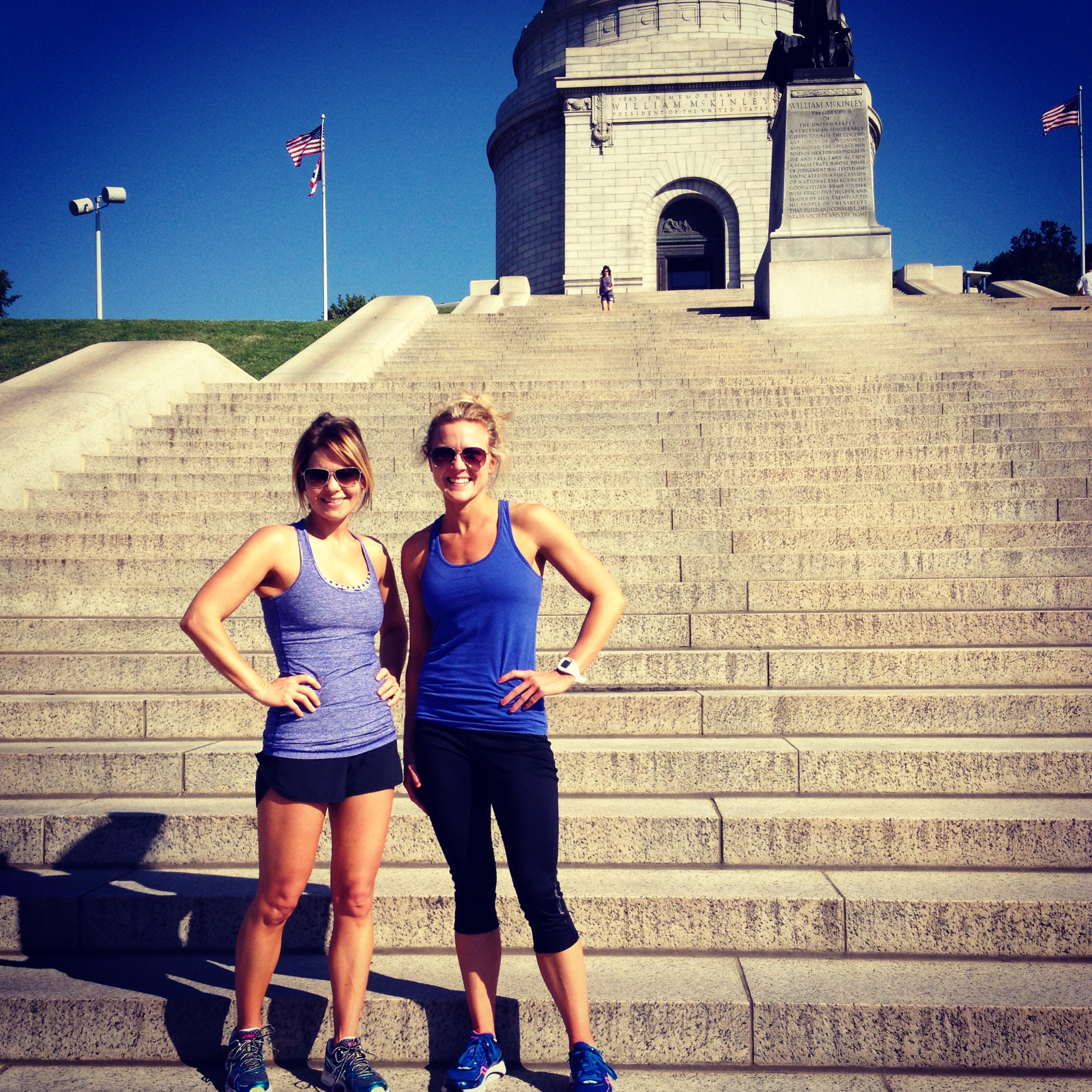 Candace & Clare: Stair Workout  | peak313.com