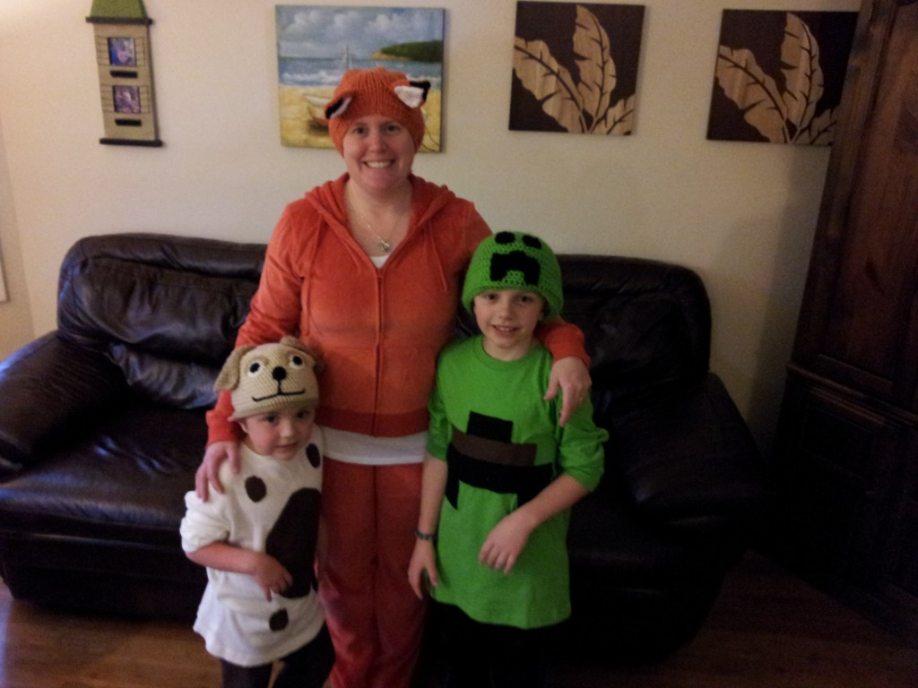 Amanda and kids