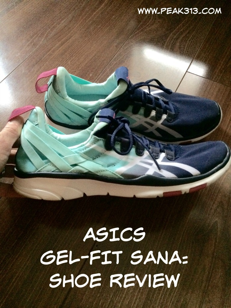ASICS GEL-FIT Sana Shoe Review, workout video & trip re-cap!