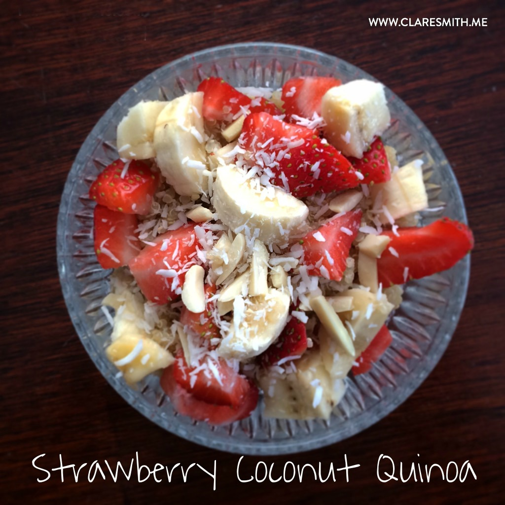 Recipe: Strawberry Coconut Breakfast Quinoa