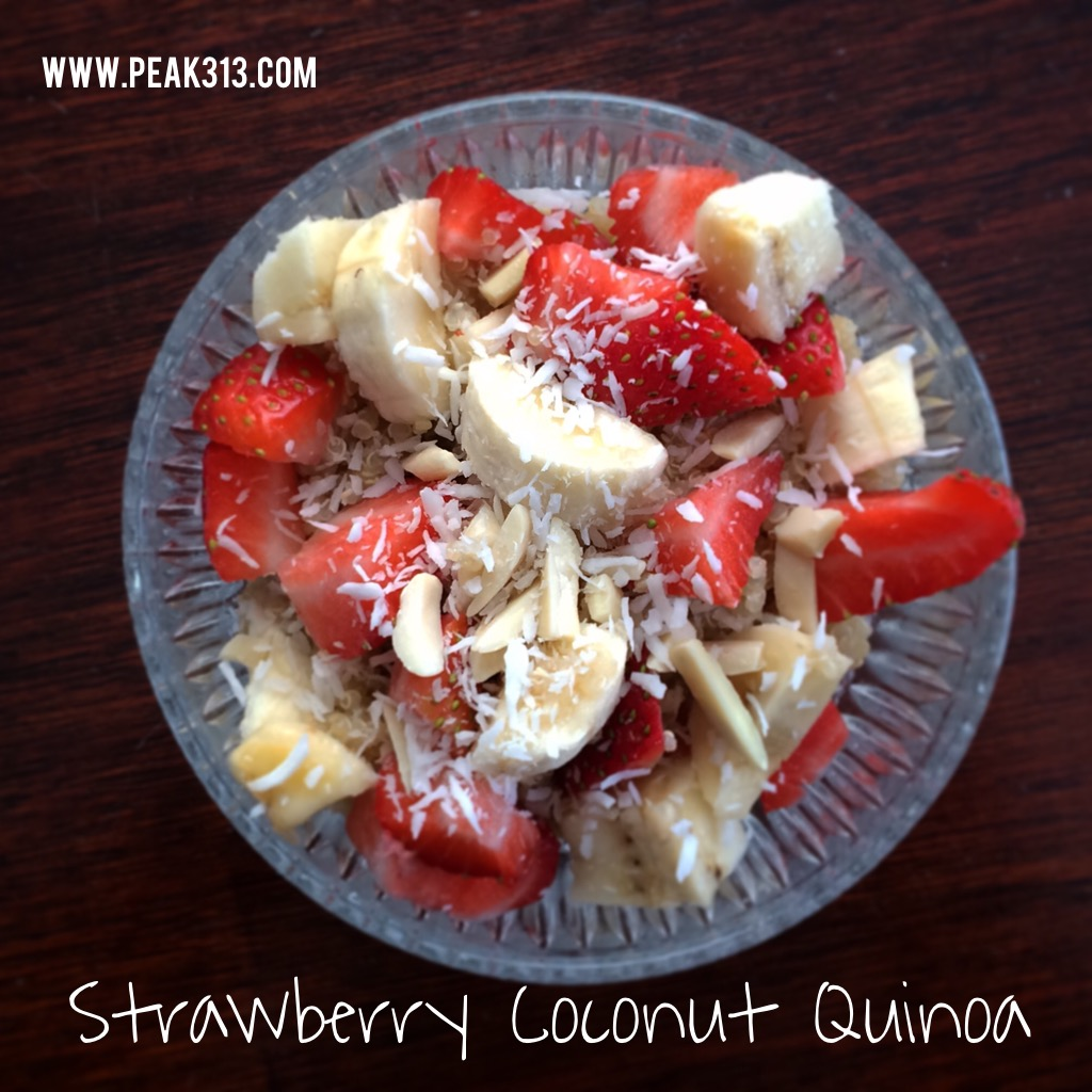 Strawberry Coconut Quinoa : claresmith.me