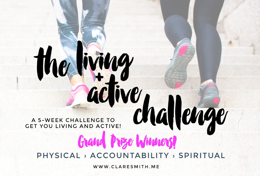 """Living + Active"" Let-Down and GRAND PRIZE Winners!"