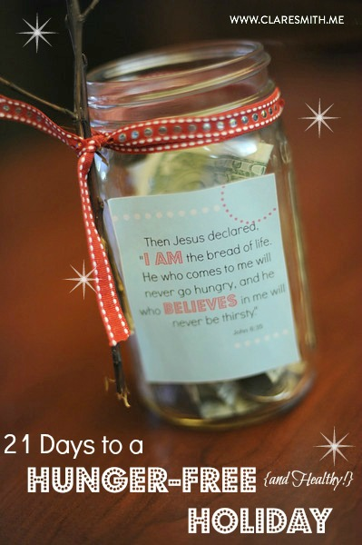21 Days to a Hunger-Free (& Healthy!) Holiday! (Free Download!)