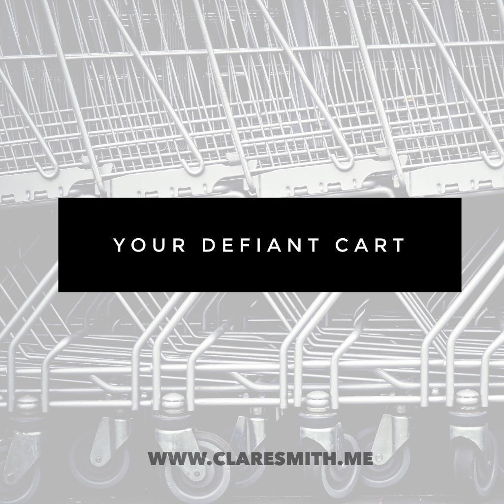 Your Defiant Cart