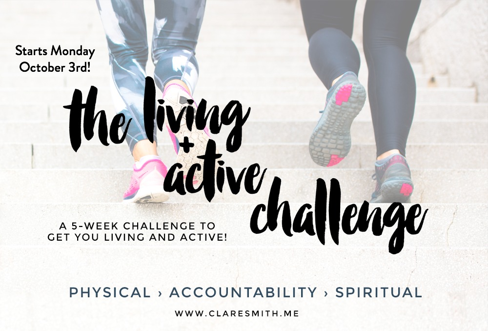 "The 5th Annual ""Living + Active"" Challenge!"