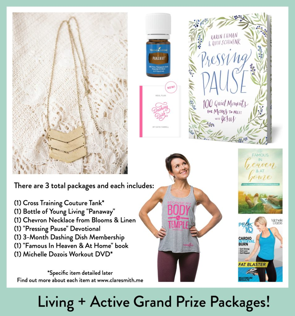 Living + Active Week 1 Video Q+A and Grand Prize Packages!