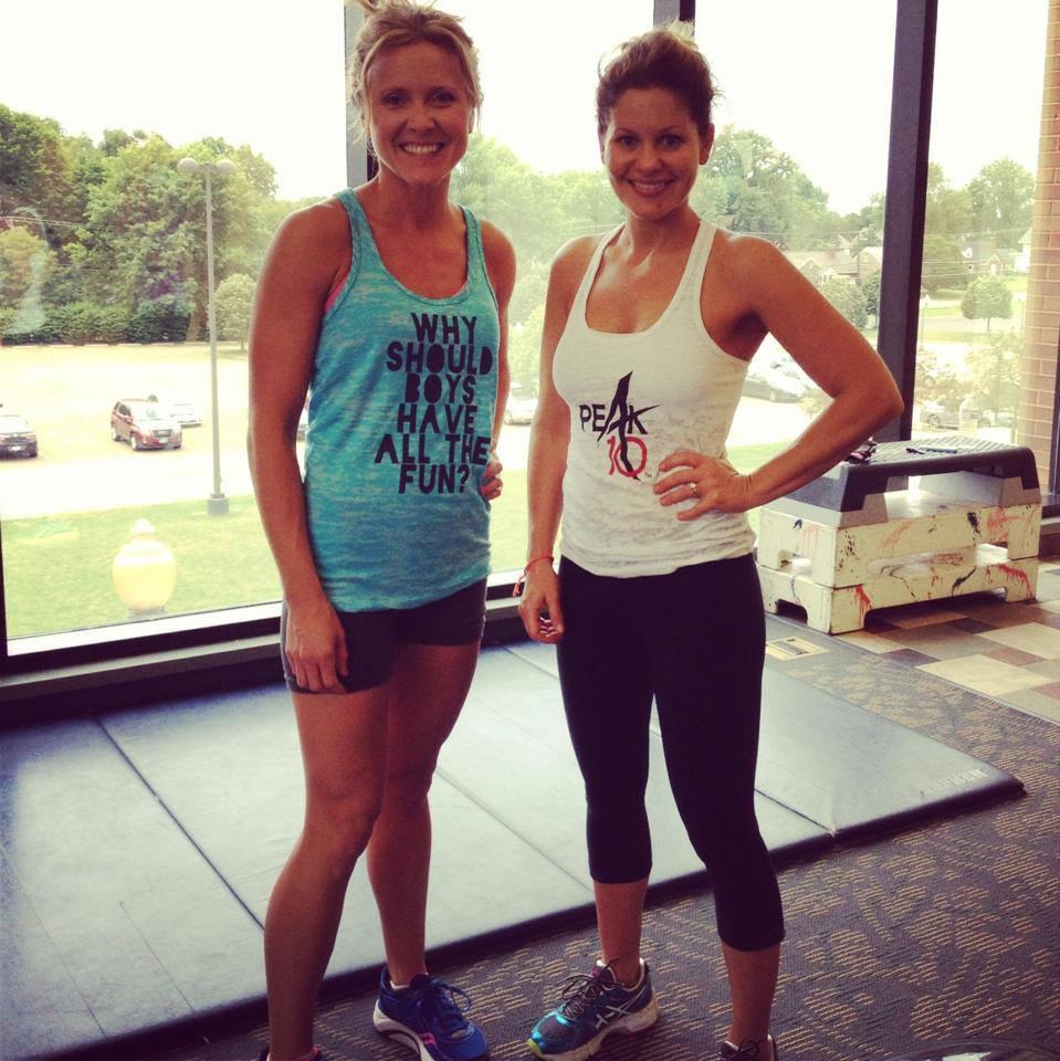 Candace & Clare Exercise! | peak313.com