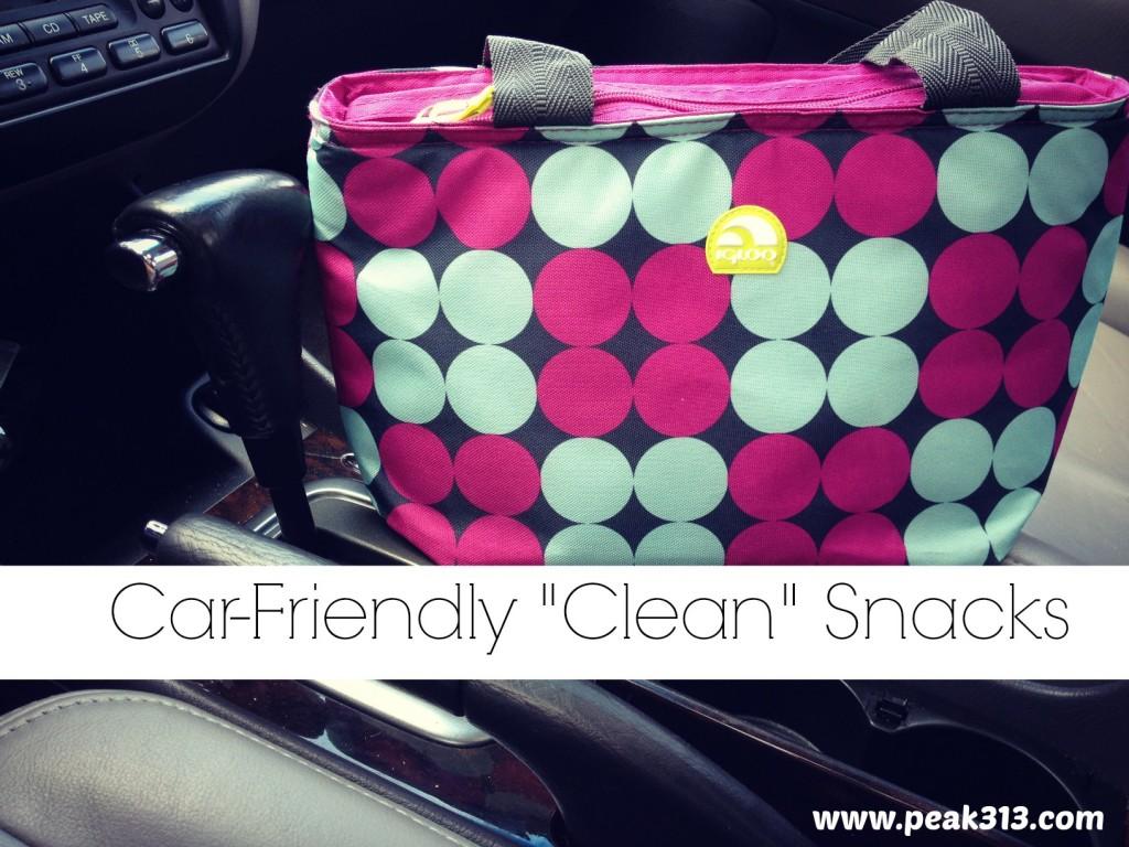 "Car-Friendly ""Clean"" Snacks! | peak313.com"