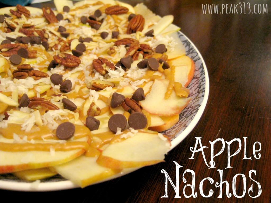Apple Nachos | peak313.com