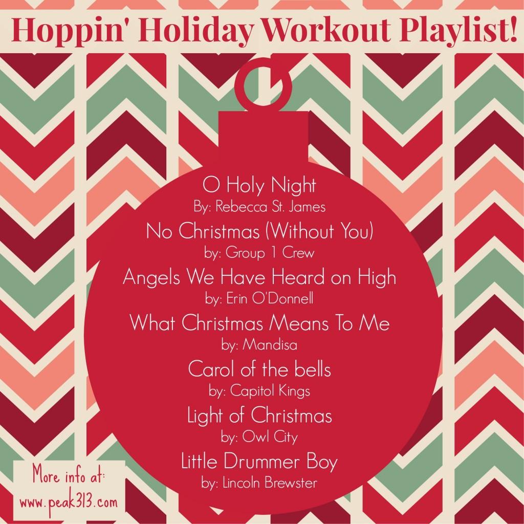 Hoppin' Holiday Workout Playlist : peak313.com