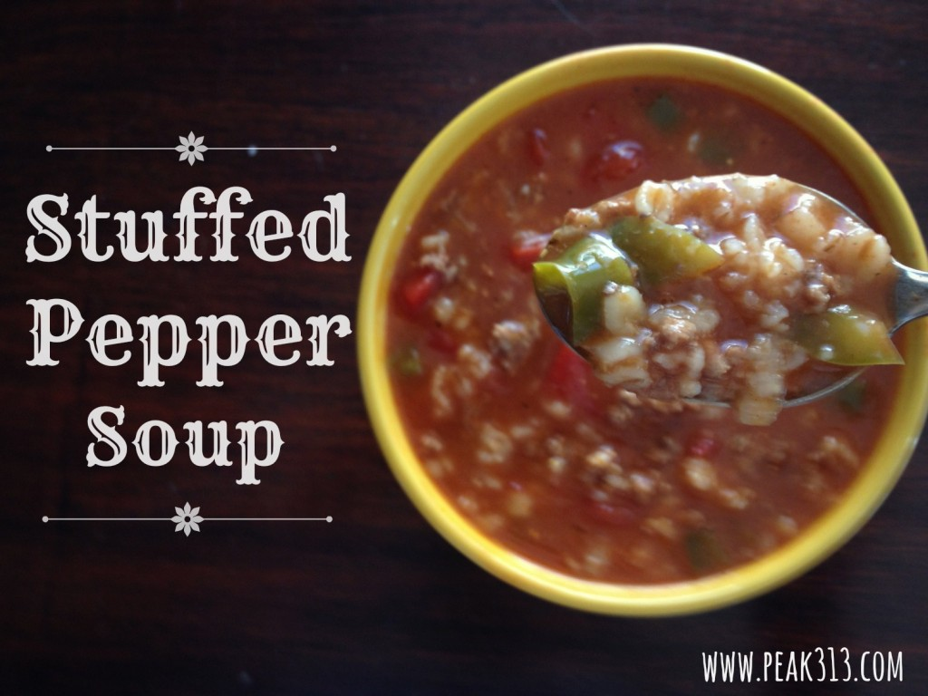 Stuffed Pepper Soup : peak313.com